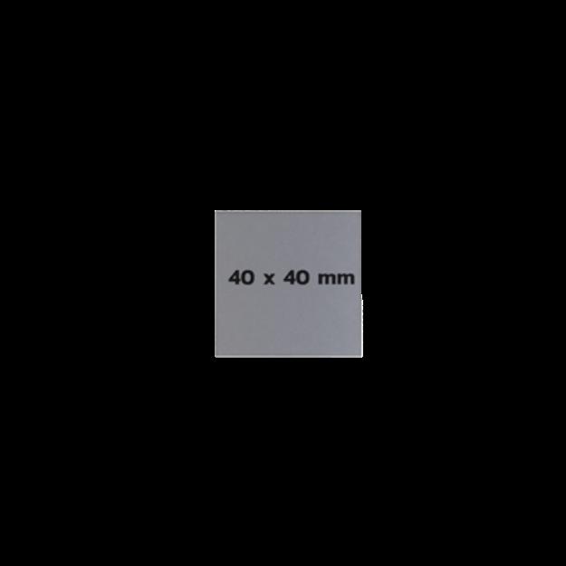 รูปของ Sticker On Demand Laser Engrave Label เลเซอร์มาร์กกิ้งลาเบล ขนาด 40 x 40 มิลลิเมตร