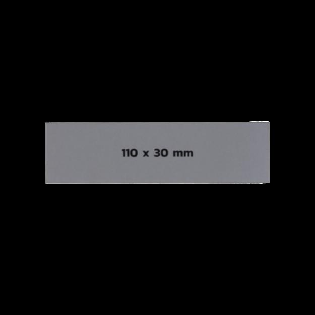 รูปของ Sticker On Demand Laser Engrave Label เลเซอร์มาร์กกิ้งลาเบล ขนาด 110 x 30 มิลลิเมตร