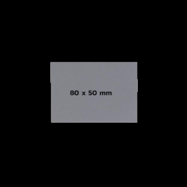 Picture of Sticker On Demand Laser Engrave Label เลเซอร์มาร์กกิ้งลาเบล ขนาด 80 x 50 มิลลิเมตร