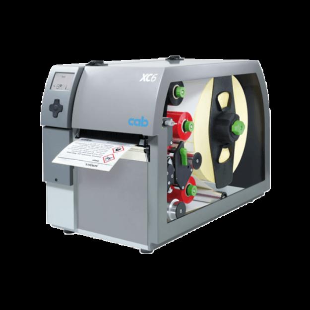 รูปของ CAB XC6/300 Label Printer เครื่องพิมพ์ลาเบล ฉลาก สติ๊กเกอร์ แบบ 2 สี เกรดอุตสาหกรรม