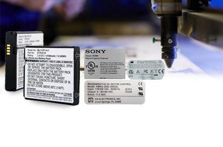 ภาพแบรนด์สินค้า  สติ๊กเกอร์อุปกรณ์อิเลคทรอนิกส์ แบตเตอรี่