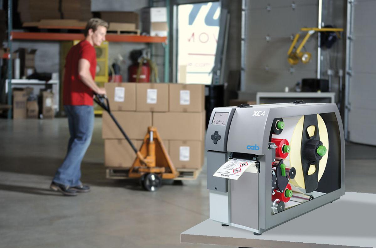 ภาพแบรนด์สินค้า  เครื่องพิมพ์บาร์โค้ดลาเบลอุตสาหกรรม