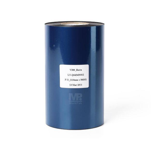 Picture of DNP V300 SIZE 110MM X 300M F/O แกน 1 นิ้ว resin ribbon หมึกริบบอน