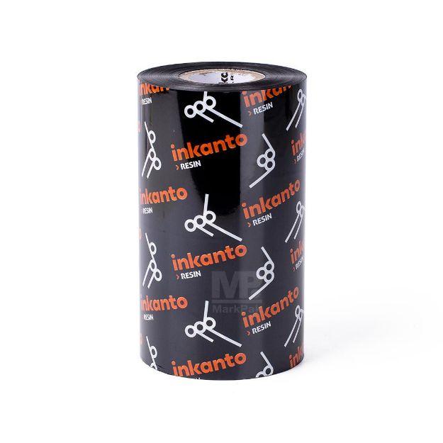 รูปของ INKANTO AXR7+ Size 110mm X 300m F/O แกน 1 นิ้ว Resin Ribbon หมึกริบบอน (PN: T12800IO)