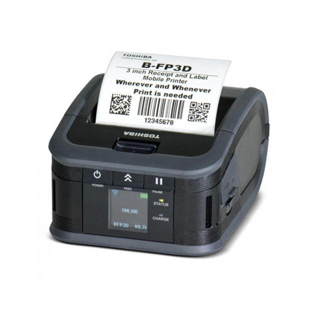 รูปของ TOSHIBA B-FP3D-GH30-QM-R เครื่องพิมพ์ลาเบลแบบมือถือ Mobile Label & Receipt Printer (BLUETOOTH)